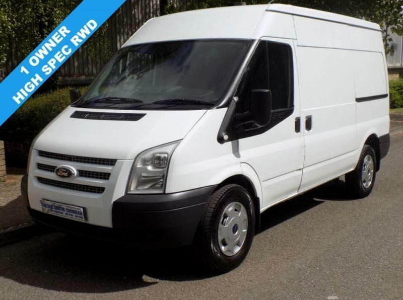 63(13) FORD TRANSIT 350 MWB MEDIUM ROOF 2.2 RWD 125 BHP 6 SPEED EURO 5 HIGH SPEC