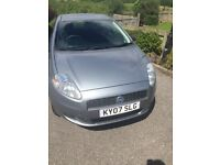 FIAT PUNTO 1.2, 2007, 73k, COMES WITH 1 YEARS MOT