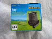 ELECTRIC PUMP FOR AIR BEDS, PADDLING POOLS & LARGE INFLATABLES, BRAND NEW!!