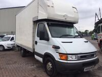 2005 IVECO DAILY BOX VAN 2.3 TURBO DIESEL ONE COMPANY OWNER MAINTAINED VERY WELL SUPERB DRIVE V TIDY
