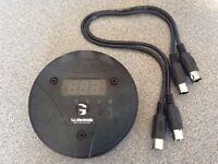 TC Electronic G-Minor midi program switcher / change pedal