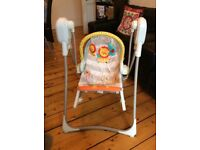 Fisher Price 3 in 1 baby swing chair from smoke/pet free home.
