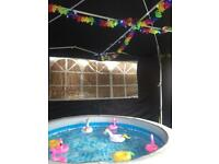 HOT TUB HIRE KIDS PARTYS AND MORE.......