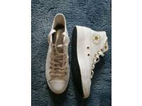 Converse all star high tops limited edition