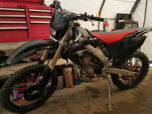 Crf 250x lots of extras.