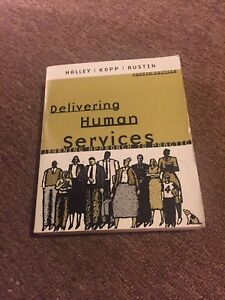 Delivering Human Services SSW textbook