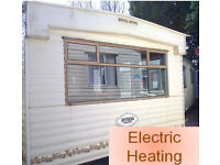 Static caravan Cosalt Riviera Super Sorrento 36 x 12 ft 3 bedrooms electric heating