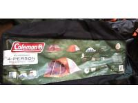 New Coleman Screened Evanston 4 Man Tent