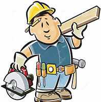 Experienced Carpenter looking for Odd Jobs