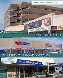 RETAIL AND OFFICE SPACE AVAIL. Merivale Road/Clyde
