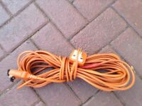 Flymo cable 2 different lengths and 1 just length of cable