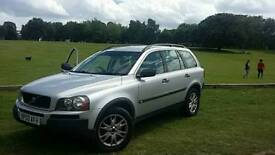 VOLVO XC90 2.4 D5 AWD DIESEL AUTOMATIC G-TRONIC 12 MONTHS MOT FULL SERVICE HISTORY ONE OWNER