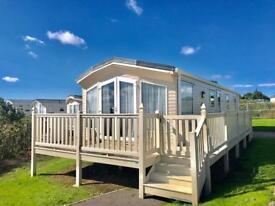 3 BEDROOM LUXURY STATIC CARAVAN FOR SALE , BEACH ACCESS , 12 MONTH PARK
