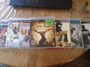 12 Ps3 Games for $80 obo
