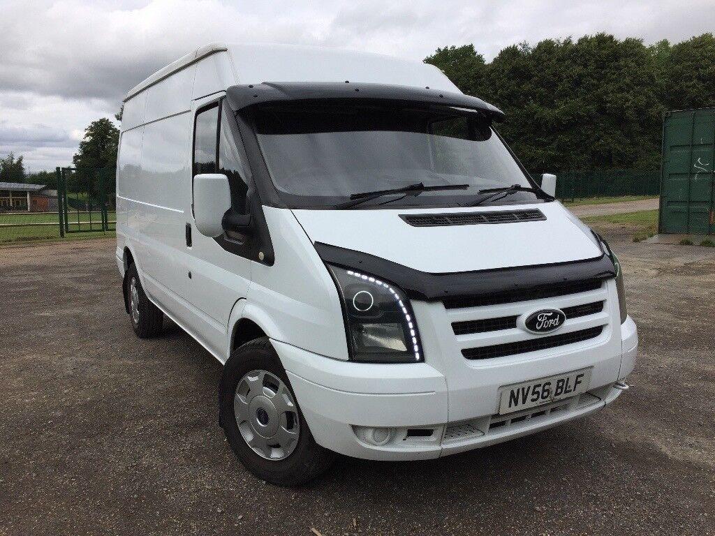 Ford Transit Van Custom MK7 - 63000 Miles - Fully Loaded - Sat Nav - 6 Speed - Bluetooth | in ...