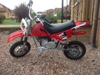 Child's mini moto dirt bike.