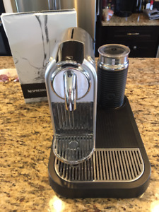 Full Nespresso Coffee Machine Set (includes steam/froth maker)