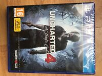 Uncharted 4 for Playstation 4 ,new wrapped