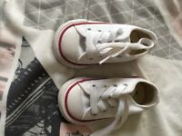 Nearly new converse with box