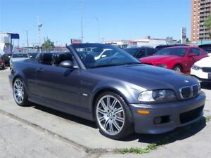 2003 BMW M3 CONVERTIBLE|333HP|NAVIGATION|SMG TRANSMISSION