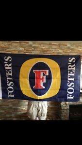 Fosters beer flag