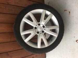 """Ready for Winter - Pirelli Sottozero Winter Tires & Rims 18"""""""