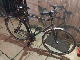 Meister Gents Commuter Bike. Serviced. Good condition. Free D-Lock, Lights, Delivery. Warranty