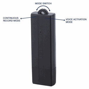 VOICE ACTIVATED DIGITAL AUDIO RECORDER 3 TO 25 DAYS BATTERY LIFE