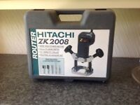 Hitachi Router ZK2008 - excellent condition, hardly used