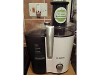 Bosch juicer in box as new