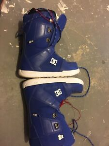 DC size 10 snowboarding boots