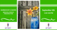 East Coast Art Party - Barndoor Flowers