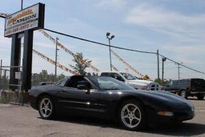 2002 Chevrolet Corvette Coupé/CUIR/2 TOITS AMOVIBLES/JAMAIS ACCI
