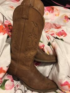Cowboy or cowgirl boots