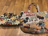 Mickey Mouse Disney hand bags travel bags baby bags shopping bag beach bags