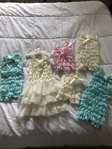 Lace rompers/ dress for baby & toddler