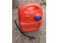 Fuel Tank for Outboard Engine (Requires an adaptor) for Boat Dinghy Tender