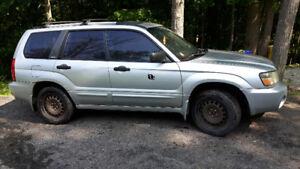 2003 Subaru Forester XS SUV