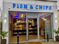 Fish & Chip Shop Vacancies - Experienced Fryer, Trainee Junior Fryer and Service Counter Staff