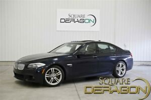 2011 BMW 5 Series BMW 550Xi M-Package + 8 WHEELS AND TIRES