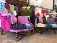 Designers Guild 2 Armchairs RRP £3000