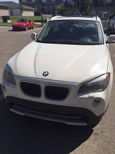 2012 BMW X1 28i, AWD, White, 4D Utility