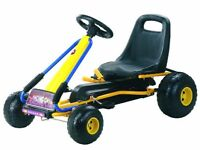 UNISEX KIDS PEDAL RIDE ON GO-KART FOR SALE BRAND NEW BOXED 3+ YEARS