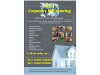 A.G.J Carpentry & Plastering
