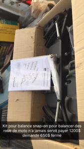 Kit pour balancer roue de moto