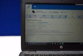 """HP EliteBook G2 820 12.5"""" i5 4GB RAM 250GB SSD Still under HP warranty"""