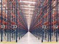 job lot redirack pallet racking AS NEW( storage , shelving )(1000 bays availabe)