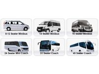 MiniBus Hire London (Self Drive Or Driver Included) .. 9 - 17 Seaters Available