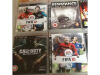 Slim PS3/320gb with games and accessories
