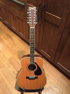 12-String Yamaha Guitar